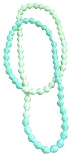 Anthropologie paper bead necklace