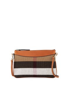 Burberry Housecheck Peyton Housecheck Cross Body Bag