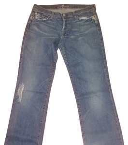 7 For All Mankind Relaxed Fit Jeans-Distressed