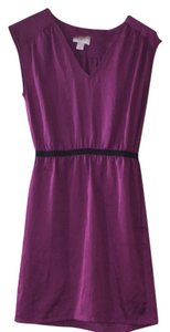 Ann Taylor LOFT short dress Fuchsia on Tradesy