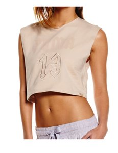FENTY PUMA by Rihanna PUMA X FENTY BY RIHANNA SLEEVELESS CROPPED CREW NECK