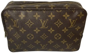 Louis Vuitton Louis Vuitton 1987 Vintage Trousse Toilette 23 Cosmetic Pouch Monogram