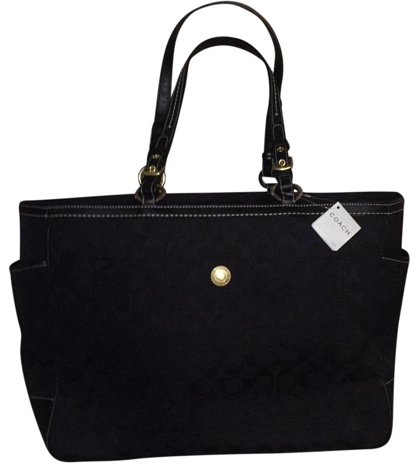 eae0f67cc Coach Fabulous Extra Large Business Travel Or Baby Tote - Tradesy