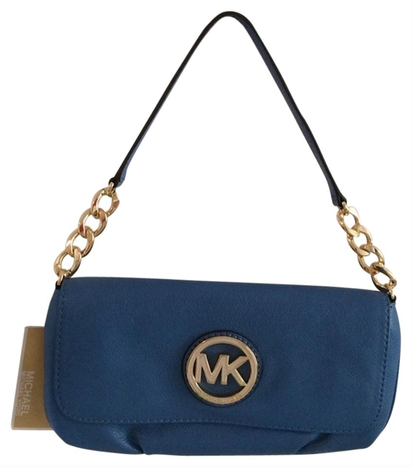 Ireland Michael Kors Fulton Shoulder - Bags Michael By Michael Kors Shoulder Bag Heritage Blue 2253436