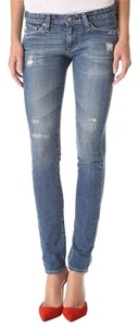 AG Adriano Goldschmied Cigarette Skinny Worn In Skinny Jeans-Distressed