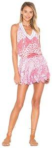 Poupette St Barth short dress white and red Summer Mini Vacation on Tradesy