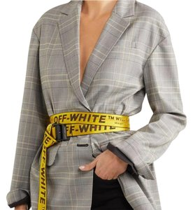 Off-White™ yellow industrial belt