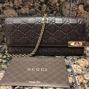 Gucci Wallet Chain Gg with receipt Clutch