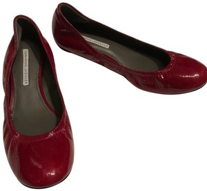 Vera Wang Lavender Label Red Flats