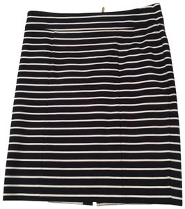 Michael Kors Pencil Skirt Navy, white