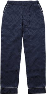 Louis Vuitton x Supreme Baggy Pants blue
