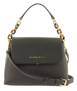 Michael Kors Portia Tote Satchel in Black