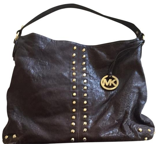 Preload https://item3.tradesy.com/images/michael-by-michael-kors-shoulder-bag-chocolate-brown-2253657-0-0.jpg?width=440&height=440