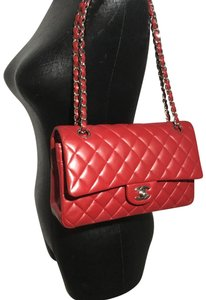 fd273a91f02b Added to Shopping Bag. Chanel Shoulder Bag. Chanel 2.55 Reissue Classic  Medium Double Flap Red Lambskin Leather ...