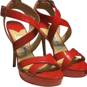 7d40ef2a716 Women s Red Jimmy Choo Shoes - Up to 90% off at Tradesy (Page 2)