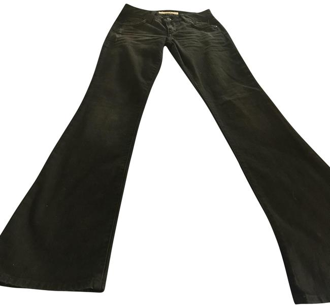 Item - Black Distressed Honey Connor Wash Boot Cut Jeans Size 24 (0, XS)