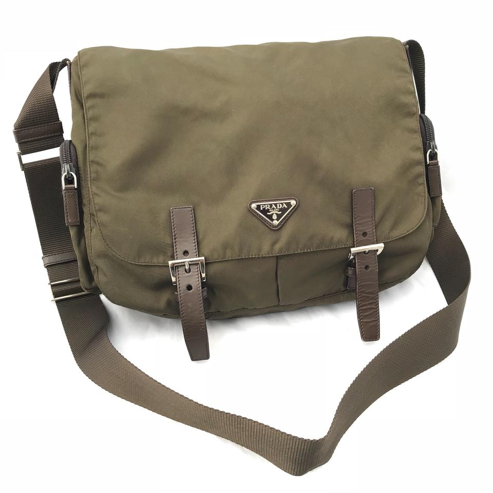 d733a9a41a3f Prada Messenger Bag Green | Stanford Center for Opportunity Policy ...