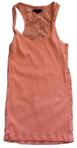 American Eagle Outfitters Lace Top Orange