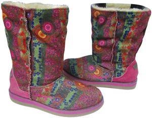 Desigual Winter Pink Boots