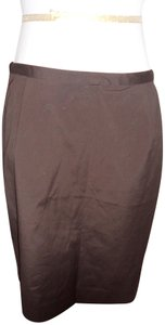 Kate Hill Mini Skirt brown