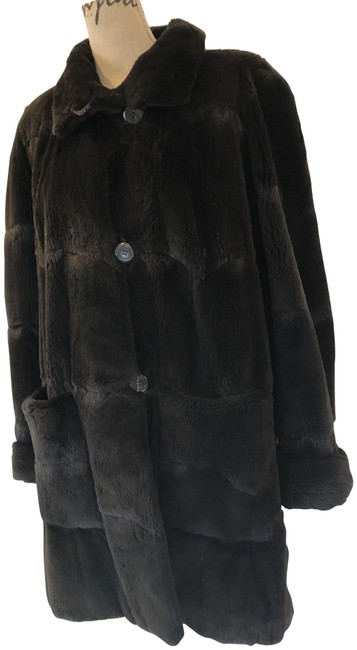 Item - Gray Charcoal Sheared Mink Excellent Like New Cond Coat Size 18 (XL, Plus 0x)