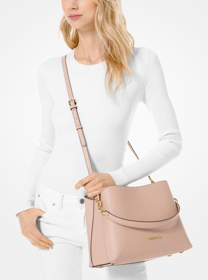 541536c74825 Michael Kors East West Sofia Portia Tote Ballet Pink Leather Satchel -  Tradesy