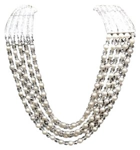 Bailey Banks Biddle Pearl & Crystal Necklace