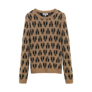 Mulberry Camel Cashmere Sweater