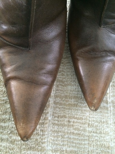 Karl Lagerfeld Designer Pointed Toe brown Boots