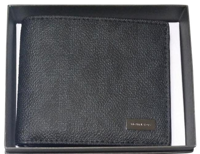 Michael Kors Black Black Men's Jet Set Double Billfold Cards Wallet Michael Kors Black Black Men's Jet Set Double Billfold Cards Wallet Image 1