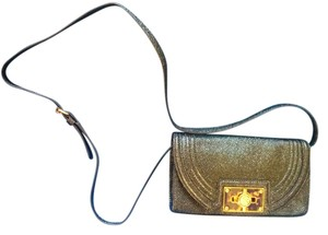 Tory Burch Dark Green Clutch