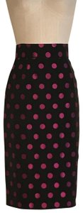 Patrick Kelly Skirt Black and Pink