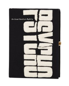 Olympia Le-Tan Book Sale Designer Black Clutch