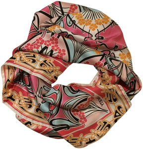 Liberty of London New! Floral Print Silk Square Scarf