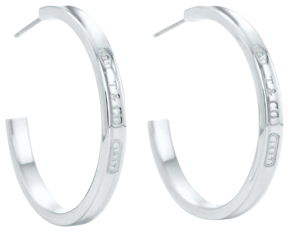 Tiffany Co Large 1837 Hoops