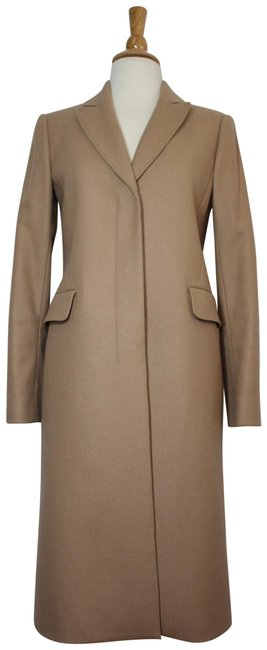 Item - Camel New Tags Wool Cashmere Tailored Coat Size Petite 4 (S)