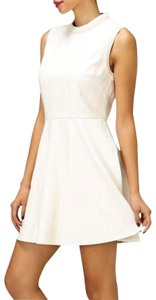 Honey Punch short dress Ivory on Tradesy
