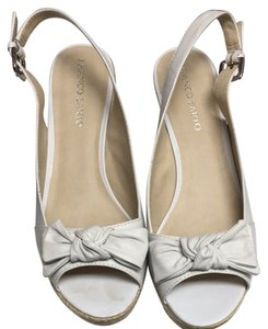 Franco Sarto Off White Wedges