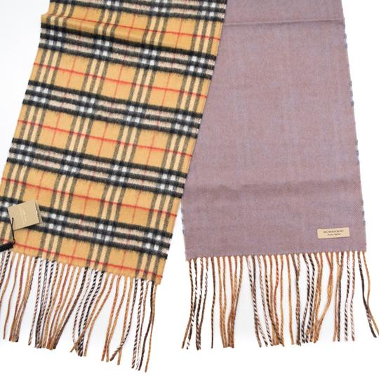 Burberry reversible castleford check cashmere scarf Image 2