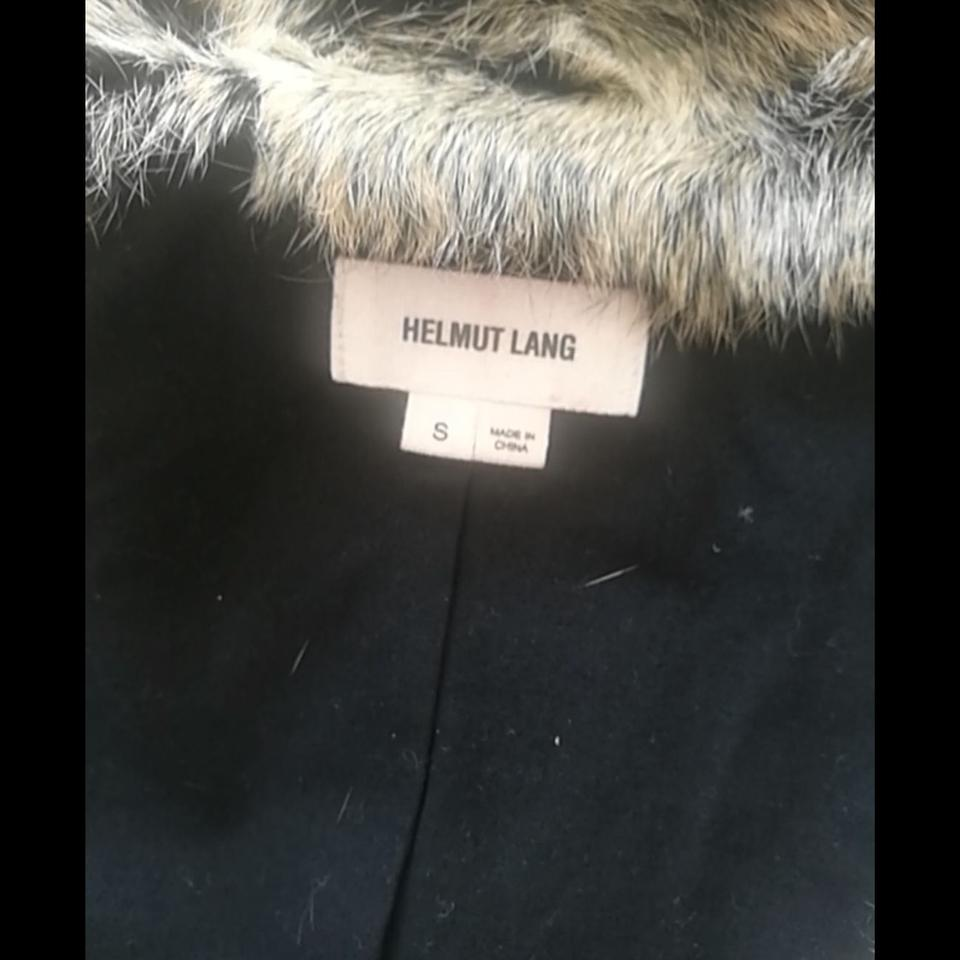 Leather Fur Black Helmut Lang Vest qFtUPApw