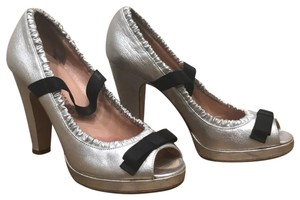 Marc by Marc Jacobs silver Platforms