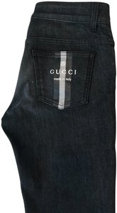 Gucci Straight Leg Jeans-Medium Wash