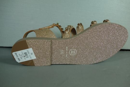 Chanel Gold Flats Image 9
