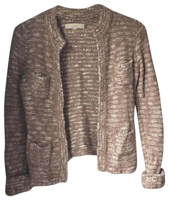 Item - In Good Condition Brown and White Sweater