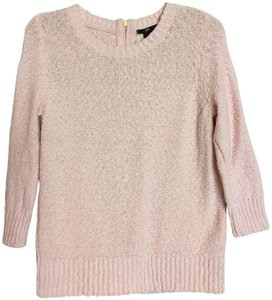 H&M Woven Knit Braided Crochet Stretchy Sweater