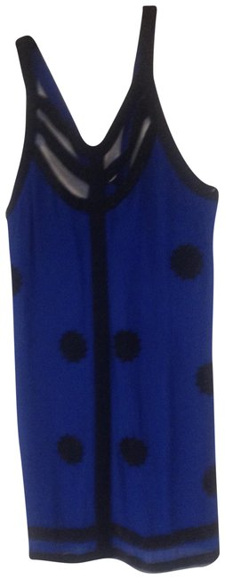 Preload https://img-static.tradesy.com/item/22542317/french-connection-blue-with-beading-short-cocktail-dress-size-12-l-0-1-650-650.jpg