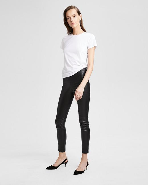 Theory Black Leggings