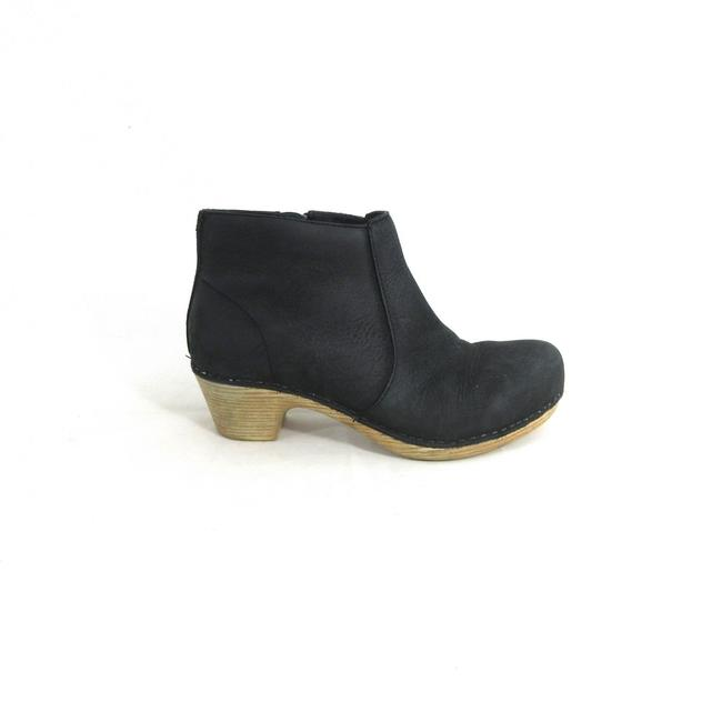 Item - Black Womens Cute Ankle Boots Booties Mules/Slides Size US 5.5 Regular (M, B)