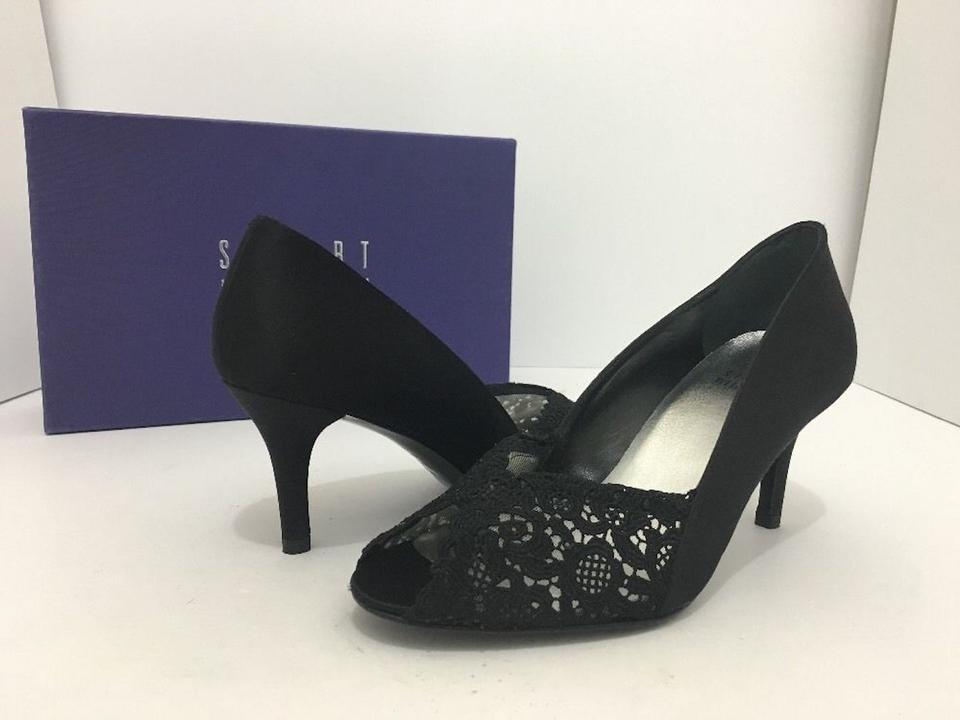 4e8782bf5af Stuart Weitzman Black Satin / Lace Chantelle / Women's Evening High Heel  Pumps Formal Shoes Size US 6.5 Wide (C, D) 58% off retail