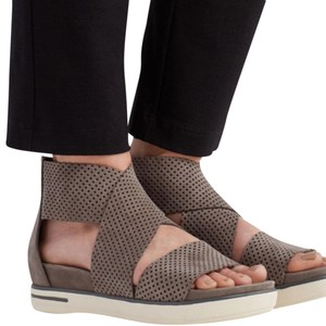 7429221c328b Eileen Fisher earth Wedges. Eileen Fisher Earth Perforated Sport Platform  Sandal ...